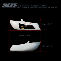 2pcs Front Vented Headlight Replacement Bodykits For Nissan S15 Silvia Frp