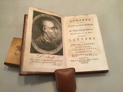 Orrery's Remarks On The Life And Writigns Of Dr. Jonathan Swift, 1752, 4th Editi