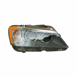 For Bmw X3 2011-2014 Replace Bm2503171 Passenger Side Replacement Headlight