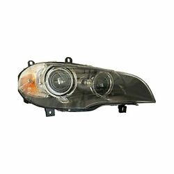 For Bmw X5 11-13 Replace Passenger Side Replacement Headlight Lens And Housing