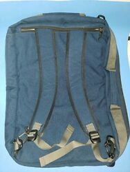 PATAGONIA Messenger Backpack COMMUTER Bag Travel Carry Navy Blue Laptop 21 x 15 $64.89