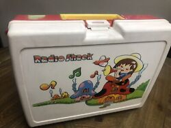 Vintage 1984 Radio Shack Portable Sing Along Childrens Record Player - Case Only
