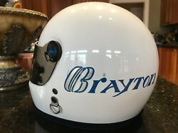 Indianapolis Indy 500 1980 Scott Brayton Estate Bell Helmet Race Used His First