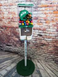 Ny Jets Nfl Inspired Man Cave Gumball Machine Sport Memorabilia Christmas Gift