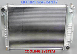 Polished Kks 3 Rows Aluminum Radiator Fit 1967 68 69 Chevy Camaro 21 Wide Core
