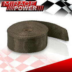 30ft Race Cat Test Piping Exhaust Manifold Header Titanium Heat Tape Wrap Cover
