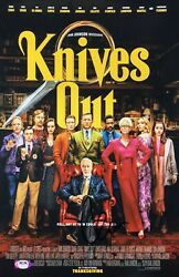 Chris Evans Signed And039knives Outand039 11x17 Photo Ransom Drysdale Psa Ah54524