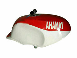 Yamaha Ysr 50 80 Ysr50 Ysr80 1989 Alloy Tank White And Red Painted With Cap