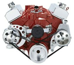 Sbc Serpentine Kit Electric Water Pump 283 302 305 327 350 400 Small Block Chevy