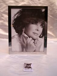 Elizabeth Taylor And Co Sterling Silver Picture Frame From Aid Foundation