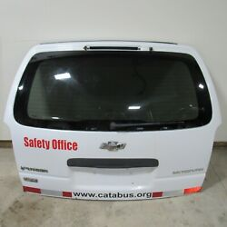 2005-09 Uplander 05-07 Saturn Relay Complete Liftgate Tailgate Hatch White 39019