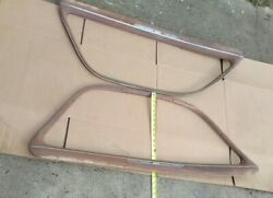 1939-1940 Buick Coupe Door Window Garnish Rails And03939-and03940