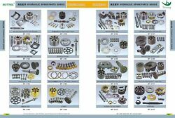 Pump Parts Rotor,piston,valve Plate,pin ,shaft Drive,seal For Deere 330lc 370