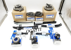 2005-2010 Timing Chain Kit 5.4l V8 24v 13 Pieces New Ford Oem F-250-350-450