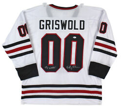 Chevy Chase Christmas Ty Webb Signed Griswold Jersey Bas Witnessed Wa36237