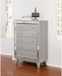 Chest Of Drawers Large Home Bedroom 5 Drawer Decor Storage Dresser Furniture New