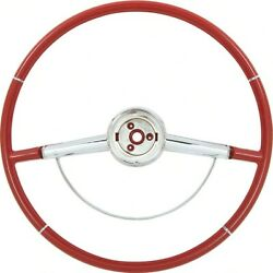 Oer 16 Two Tone Red Steering Wheel 1964 Chevy Impala Bel Air Biscayne