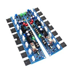 1pair E405 Audio Power Amplifier Board 300w A1943 C5200 Refer Accuphase