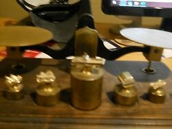 Very Rare Late 1960's Early 1970's Gm Truck Service Award Scale Parts 4 Weights