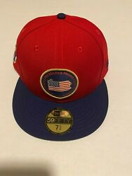 Philadelphia Phillies New Era 59fifty State Mlb Red Fitted Hat Size 7 3/4 2019