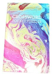 Crossword Puzzle Book, 35 Challenging Puzzles, 8 X 5 Purse Or Travel Size