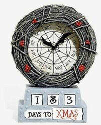 The Nightmare Before Christmas Countdown Table Clock Hot Topic Exclusive