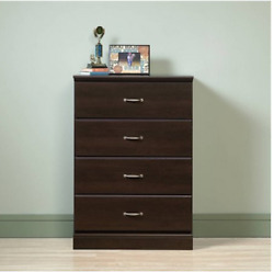 Chest Of Drawers Large 4 Drawer Bedroom Clothes Storage Decor Dresser Furniture