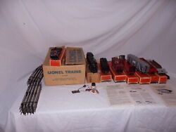 Lionel 801 2257ws Engine And Cars Train Set In Original Boxes Lot K-102