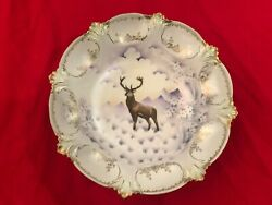 Rs Prussia Bowl Featuring The Stag Deer