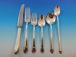 Lady Diana By Towle Sterling Silver Flatware Set For 8 Service 56 Pieces