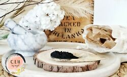 30g Activated Charcoal Powder + Bamboo Eco Toothbrush Cehbyangel Raw Materials
