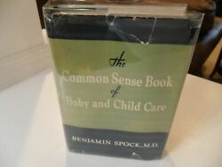The Common Sense Book Of Baby And Child Care 1st/2nd Benjamin Spock 1946