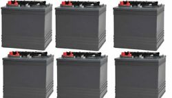 Replacement Battery For Club Car 8v Carryall Turf 1 - Electric Golf Cart 6 Pack