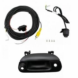 Rear View Backup Camera Add On Kit W/ Wiring And Tailgate Handle For F150 F250