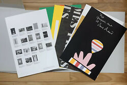 Mohawk Graphics Collection 1988 Paul Rand 18 Lithographed Prints + Envelope