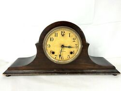 Sessions 8 Day Pendulum Mantle Clock For Parts Not Working