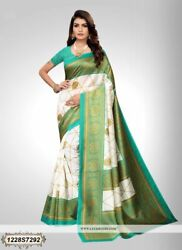 Bollywood Saree Party Wear Indian Pakistani Ethnic Wedding Designer Sari 1438