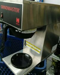 Grindmaster - Cpo-1p-15a  Pourover Coffee Brewer With 1 Bottom Warmer