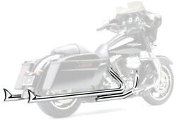 Cobra Speedster Dual Exhaust System With Fishtail Tips Chrome 6974