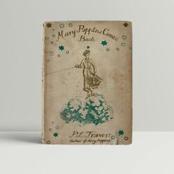 P.l. Travers – Mary Poppins Comes Back – First Uk Edition 1935 - 1st Book