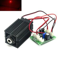 Focusable 650nm 100mw Red Dot Long Time Working Laser Diode Module 12v Driver