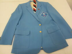 Vintage 1984 Xxiii Olympiad Los Angeles Official Staff Jacket And Tie
