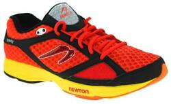 Newton Men#x27;s Gravity Neutral Trainer Running Shoes Black Red 9