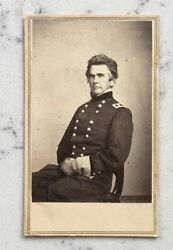 Antique Cdv Photograph Union Major General Ormsby M. Mitchell By Brady Anthony
