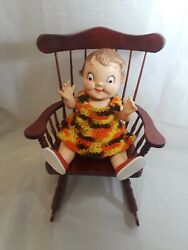 Vintage Campbell Soup Kid Doll Unmarked 10 Tall