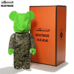 BERBRICK 1000% READYMADE × F.C.Real Bristol costumed Ver. Rare Bearbrick Japan