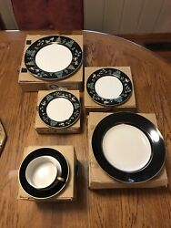 Fitz And Floyd Chinoiserie Dinnerware 24 Pieces