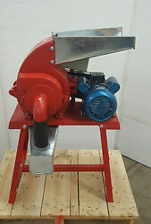 Industrial Hemp Grinder - 3hp 220v 1ph Electric Powered Usa In-stock W/support