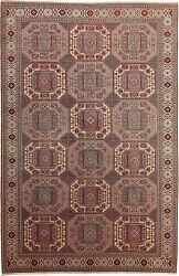 Turkish Handmade Rugs Anatolia Traditional Collection Wool 6and039-5 X 9and039-9
