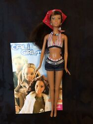 Barbie Cali California Girl Lea With Bandana And Booklet Great Condition